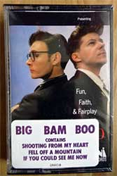 аудиокассета BIG BAM BOO ''Fun, Faith, And Fair Play'' (1987 USA press, original sticker, UNIC-8, mint/mint, still sealed!) (MC2350)