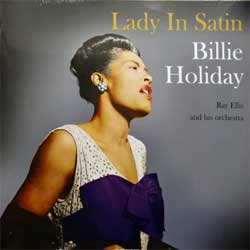 винил LP BILLIE HOLIDAY ''Lady In Satin'' (1958 RI 2016 UK press, heavy 180 gr COLOURED VINYL, NOTLP228, new, sealed)