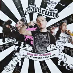 TAMTRUM ''Fuck You I'm Drunk/Stronger Than Cats'' (2009 Russian press, GRR 111, mint/mint) (CD)
