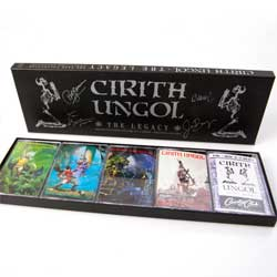 аудиокассета CIRITH UNGOL ''The Legacy: The Tape Collection (Includes All 4 Albums + Exclusive Live Tape)'' (5xMC-box) (RI 2017 German RARE press, insert, limited handnumbered edition 441/1500, 3984-41083-4, new, sealed)