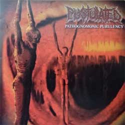 PUSTULATED ''Pathognomonic Purulency'' (2002 USA press, BR001/GR0001, matrix THE EDGE PUSTULATED 103445 SO#15307 1-AUG CC#5565 115098, ex/mint) (CD) (D)