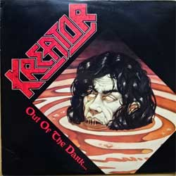 винил LP KREATOR ''Out Of The Dark… Into The Light'' (1988 USA press, insert, 6W 44267, ex/vg+)