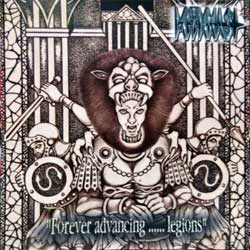 MITHRAS ''Forever Advancing… Legions'' (2002 UK 1st press, matrix Gold CD08, ex-/near mint) (CD)