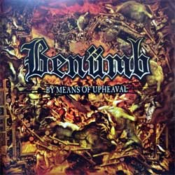 BENUMB ''By Means Of Upheaval'' (2003 USA press, RR 6559-2, matrix 48801AM-01 RLP-6559-WP 021411-19, ex+/mint) (CD)