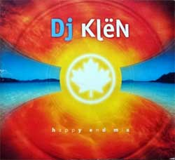 DJ KLЁN ''Happy End Mix'' (2006 Russian press, embossed, fragmental UV-varnished, matrixes SZ267CD1/2, ex-/ex) (digipak) (2xCD) (D)