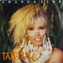 винил LP AMANDA LEAR ''Tam-Tam'' (1983 Scandinavian press (ncb), ex+/ex-)