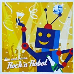 KIM & BURAN ''Rock'n'Robot'' (2005 Russian press, SCD 048, mint/mint) (CD) (D)