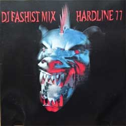 DJ FASHIST ''Dj Fashist Mix: Hardline 77'' (2004 Russian RARE PROMO press, matrix BAL-NEO-703, mint/vg+) (CD) (D)