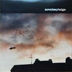 KOVALSKY ''Taiga'' (2003 Russian press, ZV014CD, mint/mint) (CD) (D)
