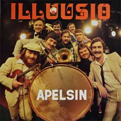 винил LP АПЕЛЬСИН (APELSIN) ''Illusio'' (1981 USSR/Finland RARE press, KK-48, laminated, ex-/ex+)
