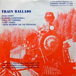 винил LP BOB CHAPMAN ''Train Ballads'' (6-track 7''single) (1969 USA press, CC 0630, vg+/ex)