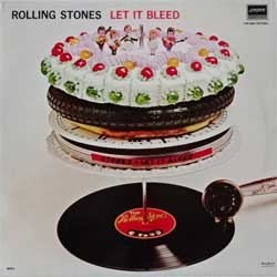 винил LP ROLLING STONES ''Let It Bleed'' (1969 RI 1983 Mexican RARE press, matrixes LPR 54041 A- MPI 28/I/83 RICO, LPR 54041 B MPI 28/I/83 RICO, ex+/mint)