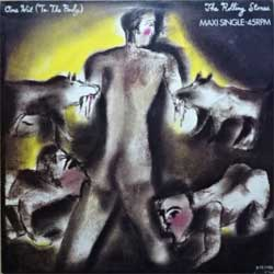"винил LP ROLLING STONES ""One Hit (To The Body)"" (3-track 12"") (1986 Holland press, near mint/ex-)"