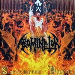 ABOMINATOR ''Nuctemeron Descent'' (2003 France press, OPCD 145, matrix Sony DADC, mint/mint) (CD) (D)