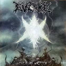 EVOKE ''The Fury Written'' (1999 German press, IR-C-157, mint/mint) (CD)