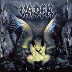 VADER ''Litany'' (2000 German RARE PROMO press, 3984-14297-2, matrix DOCdata Germany MB 3984-14297-2P, ex+/mint) (CD)