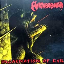 WITHCBURNER ''Incarnation Of Evil'' (2001 German press, UCR CD 09, ex+/near mint) (CD)