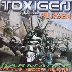 ПУРГЕН (PURGEN) (TOXIGEN Remixes PURGEN) ''Karmaoke Cyberpunk Hardcore Industrial'' (CD) (2004 press, mint/mint)