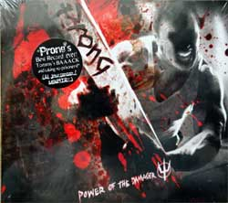 PRONG ''Power Of The Damager'' (2007 German press, original sticker, THP 006, mint/mint, still sealed) (digipak) (CD)
