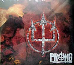 PRONG ''Carved Into Stone'' (2012 USA press, SPV 260102 CD, mint/mint, still sealed) (digipak) (CD)