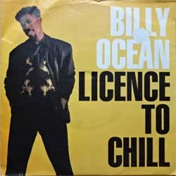 "винил LP BILLY OCEAN ""License To Chill - Pleasure"" (7"" single) (1989 German press, vg+/vg+)"