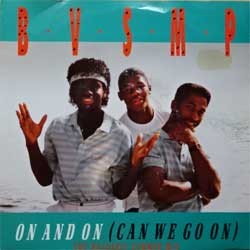 "винил LP B.V.S.M.P. ""On And On (Can We Go On) (The Balearic Summer Edit) - On And On (Instrumental Version)"" (7"" single) (1989 Scandinavian press, ex+/ex)"