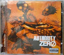 AUTHORITY ZERO ''Andiamo'' (2004 Canada press, CD 93193, saw-cut, mint/mint, still sealed) (CD)
