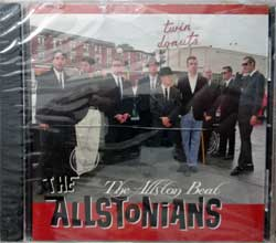 ALLSTONIANS ''The Allston Beat'' (1997 USA press, MR093CD, mint/mint, still sealed) (CD)
