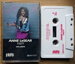 аудиокассета ANNIE LeSEAR ''Tasty'' (1984 USA press, HCC-20015, mint/mint, new) (MC2416) (D)