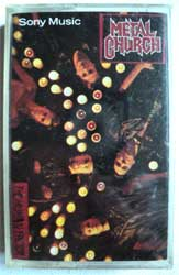 аудиокассета METAL CHURCH ''The Human Factor'' (1991 Malaysia press for USA market, sealed, mint/mint)