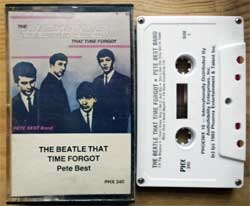 аудиокассета BEATLES (PETE BEST BAND) ''The Beatle That Time Forgot'' (1982 USA press, PHX 340, mint/mint) (MC2420)