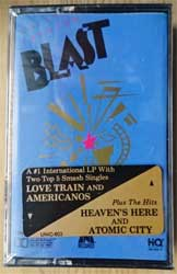 аудиокассета FRANKIE GOES TO HOLLYWOOD (HOLLY JOHNSON) ''Blast'' (1989 USA press, original hype sticker, UNIC-603, mint/mint, still sealed!) (MC2430)