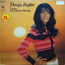 "винил LP DUNJA RAJTER ""Lieder aus meiner Heimat"" (2LP-gatefold) (1973 German press, laminated, 2 inserts, ex+/near mint/ex)"