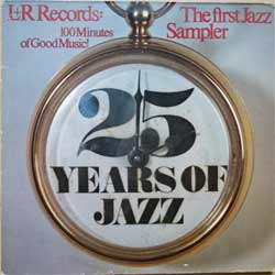 винил LP va THE FIRST JAZZ SAMPLER - 25 YEARS OF JAZZ (2LP-gatefold) (1980 German press, LS 40.012, ex-/ex-)