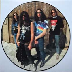 винил LP KREATOR ''Extreme Aggressions'' (picture-disc) (1989 German press, N 0145-9, ex+/sfc)