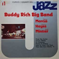 винил LP BUDDY RICH BIG BAND (STEVE MARCUS, DANNY HAYES, BOB MINTZER ''I Giganti Del Jazz Vol.11'' (1980 Italy press, GJ-11, ex/ex-)