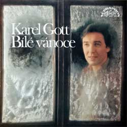 KAREL GOTT ''Bile Vanoce'' (1982 RI 1988 Czechoslovak press, 1st edition on CD!, 10 3240-2 311, matrix GZ AB0606 10 3240-2 311, vg+/mint)