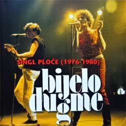 BIJELO DUGME (GORAN BREGOVIC) ''Singl Ploce (1976-1980)'' (1982 RI 1996 Serbia press, CDD 10111, matrix HI-FI CENTAR CD 10111, near mint/ex+) (CD)