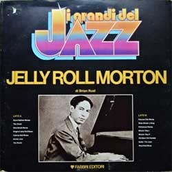 винил LP JELLY ROLL MORTON ''I Grandi Del Jazz'' (1980 Italy press, gatefold, booklette, GDJ-66, ex-/vg+)