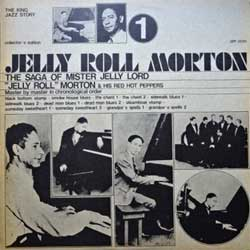 винил LP JELLY ROLL MORTON ''Jelly Roll Morton & His Red Hot Peppers Vol.1'' (1973 Italy press, collector's edition, SM 3550, ex/ex+)