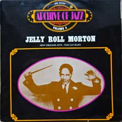винил LP JELLY ROLL MORTON ''Archive Of Jazz Volume 6'' (1970 France press, laminated, BYG 529.056, ex-/vg+)