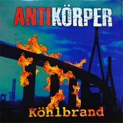 винил LP ANTIKORPER ''Kohlbrand'' (1999 German press, limited handnumbered edition 330/500, insert, UV-varnished, AKLP 25, near mint/near mint)