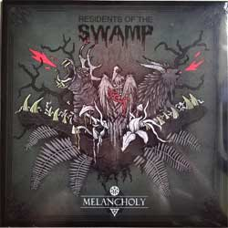 винил LP MELANCHOLY ''Residents Of The Swamp/On The Dark Side'' (2014 EU RARE press, limited edition 200 copies, heavy 180 gr black vinyl, insert, new, sealed)