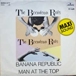 винил LP BOOMTOWN RATS ''Banana Republic - Man At The Top'' (12'') (1980 German press, 6059 377, vg+/ex-)