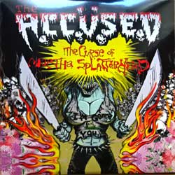 винил LP ACCUSED ''The Curse Of Martha Splatterhead'' (2009 USA press, limited edition, heavy 180 gr vinyl, 2 exclusive bonus-tracks, Lord 107, new, sealed)