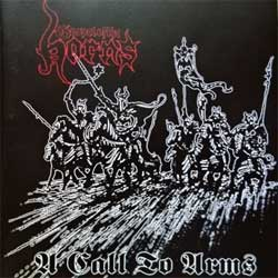 GOSPEL OF THE HORNS ''A Call To Arms'' (2002 Ireland press, IP 004, matrix made in Ireland by Saturn GOTH SI8023431/B, mint/mint) (CD) (D)