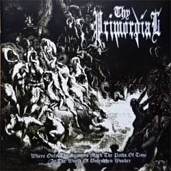 THY PRIMORDIAL ''Where Only The Seasons Mark The Paths Time/At The World Of Untrodden Wonder'' (1997/1999 RI 2002 UK press, Black030DCD, near mint/mint) (2xCD) (D)