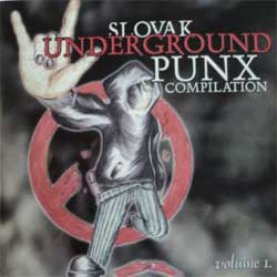 va SLOVAK UNDERGROUND PUNX COMPILATION volume I (CD)