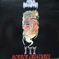 SHUB NIGGURATH ''Horror Creatures'' (2002 Mexico 1st press, CDDHP002, matrix www.laserdisk.com.mx CDDHP002 05, ex-/near mint) (CD) (D)