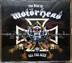 MOTORHEAD/THE MUGGERS ''The Best Of Motorhead: All The Aces/The Muggers Tapes'' (2CD-box) (1993 EEC press, CTVCD 125, matrixes Disctronics, vg+/ex/mint) (CD)